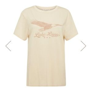 Spell & The Gypsy Collective Tops - SPELL LAKE LUNA ORGANIC TEE CREAM